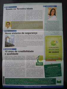 Edição de outubro do informativo de clientes da Unimed Fortaleza