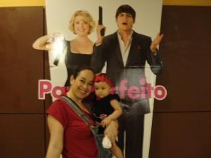 Par perfeito: eu e Mirela no cinema! =)