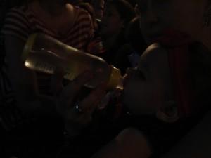No escurinho do cinema, água de côco!
